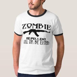 zombie repellent AK47 remix urban tshirt