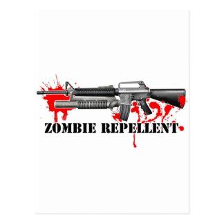Zombie Repellent Postcard