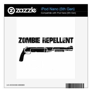Zombie Repellent iPod Nano 5G Skins