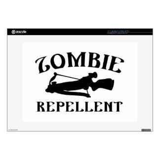 "Zombie Repellent 15"" Laptop Decal"