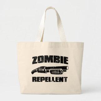 zombie repellent - the shotgun jumbo tote bag