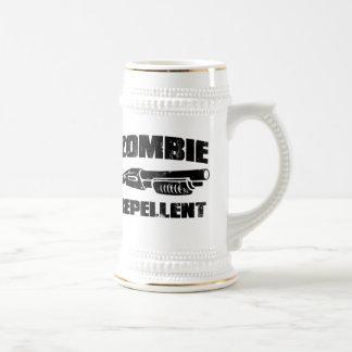 zombie repellent - the shotgun beer stein