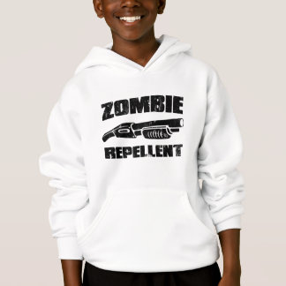 zombie repellent - the shotgun hoodie