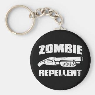 zombie repellent - the shotgun key chains