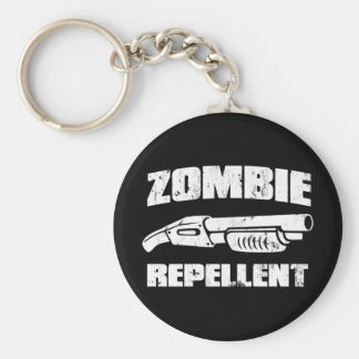 zombie repellent - the shotgun keychain