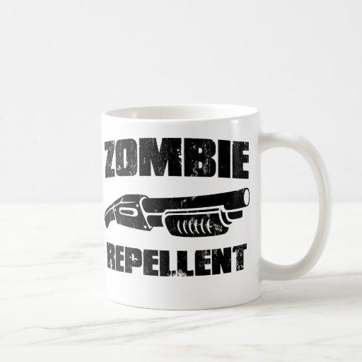 zombie repellent - the shotgun coffee mug