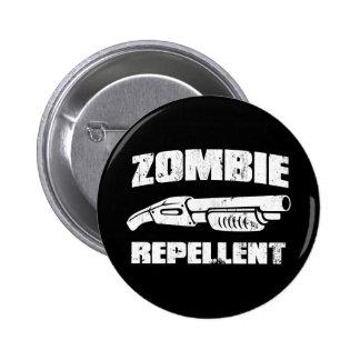 zombie repellent - the shotgun pinback button