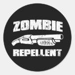 zombie repellent - the shotgun stickers