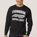 zombie repellent - the shotgun sweatshirt