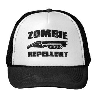 zombie repellent - the shotgun trucker hat