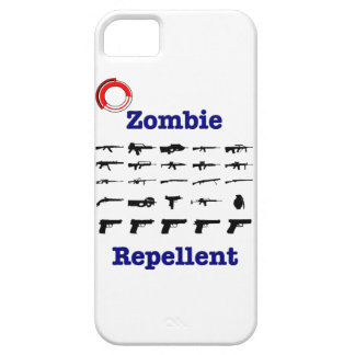 Zombie Repellent With Logo iPhone 5 Cover