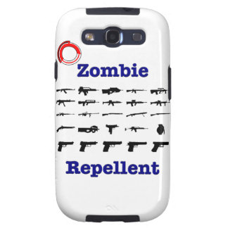 Zombie Repellent With Logo Galaxy S3 Case