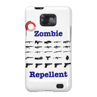 Zombie Repellent With Logo Galaxy SII Case