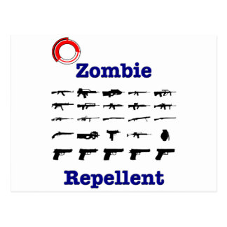Zombie Repellent With Logo Post Cards