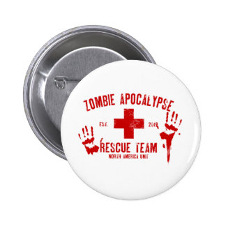 Zombie Rescue Team.png 2 Inch Round Button