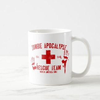 Zombie Rescue Team.png Classic White Coffee Mug