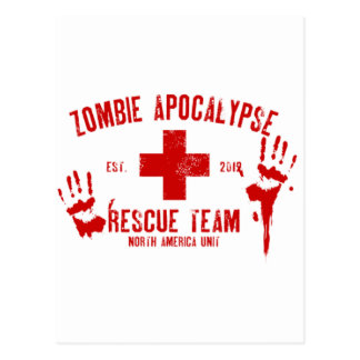 Zombie Rescue Team.png Postcard