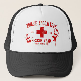 Zombie Rescue Team.png Trucker Hat