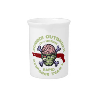 Zombie Response Team 7 Drink Pitcher