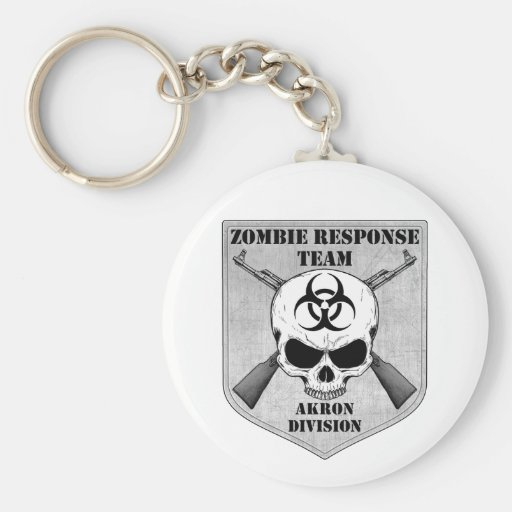 Zombie Response Team: Akron Division Keychains