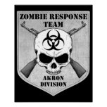 Zombie Response Team: Akron Division Posters