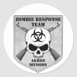 Zombie Response Team: Akron Division Stickers