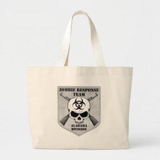 Zombie Response Team: Alabama Division Large Tote Bag