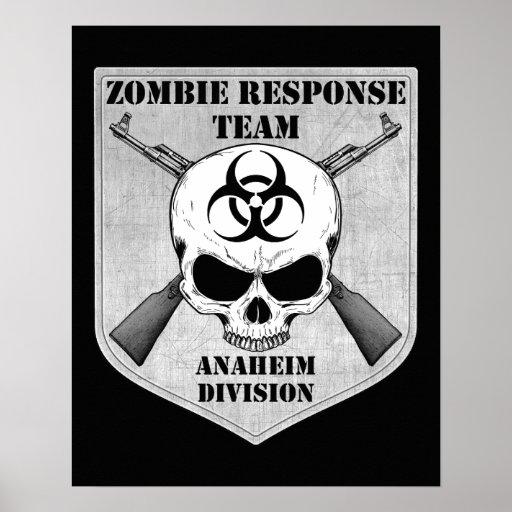 Zombie Response Team: Anaheim Division Print