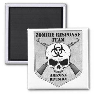 Zombie Response Team: Arizona Division 2 Inch Square Magnet