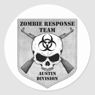 Zombie Response Team: Austin Division Stickers