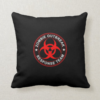 Zombie Response Team Bio Hazard Pillow Walking