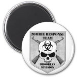 Zombie Response Team: Brooklyn Division Fridge Magnets