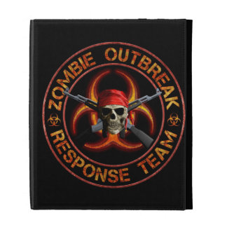 Zombie Response Team iPad Folio Case