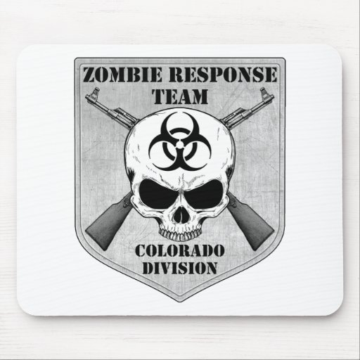 Zombie Response Team: Colorado Division Mouse Pad