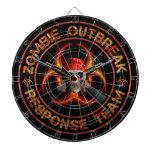 Zombie Response Team Dartboard