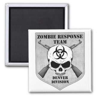 Zombie Response Team: Denver Division Magnets