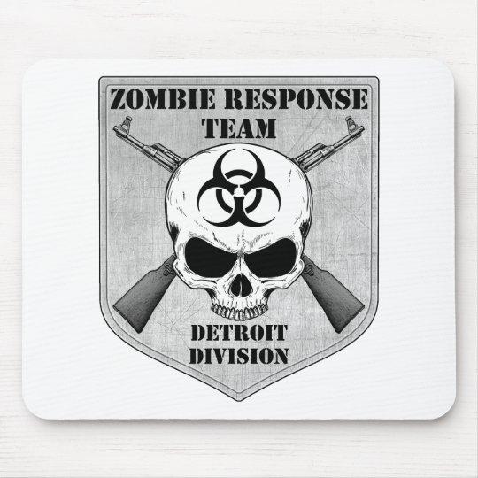 Zombie Response Team: Detroit Division Mouse Pad