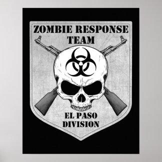 Zombie Response Team: El Paso Division Poster