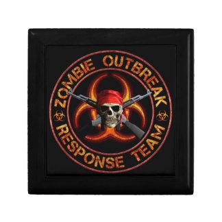 Zombie Response Team Trinket Box