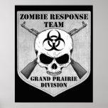 Zombie Response Team: Grand Prairie Division Print