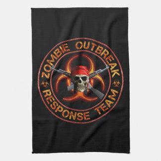 Zombie Response Team Hand Towel
