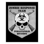 Zombie Response Team: Indianapolis Division Posters