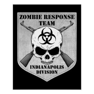 Zombie Response Team: Indianapolis Division Poster