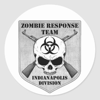 Zombie Response Team: Indianapolis Division Stickers