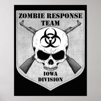 Zombie Response Team: Iowa Division Poster