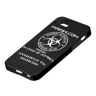 ZOMBIE RESPONSE TEAM iPhone Case FLR