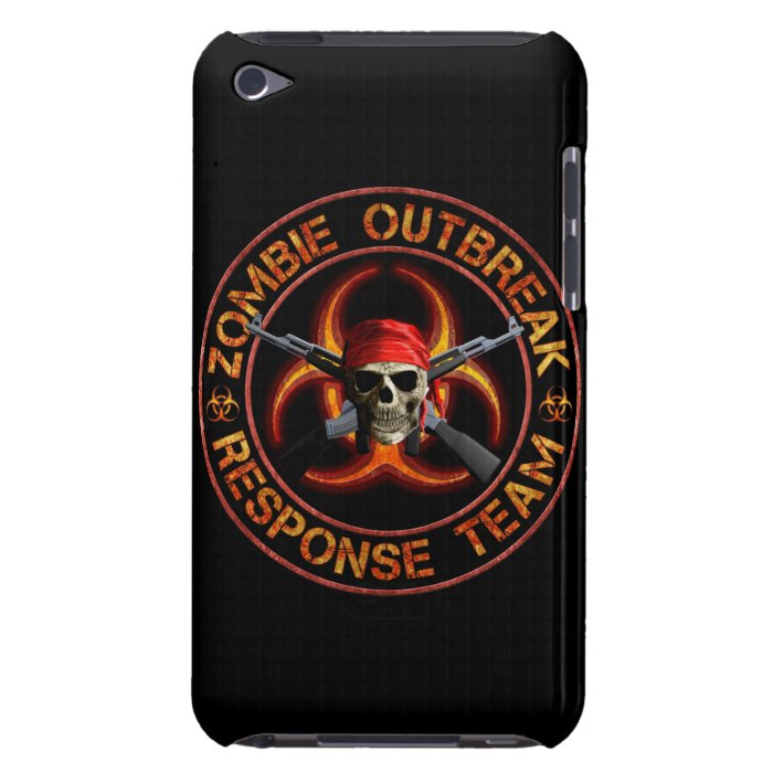 Zombie Response Team iPod Touch Case