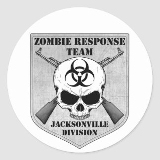 Zombie Response Team: Jacksonville Division Stickers