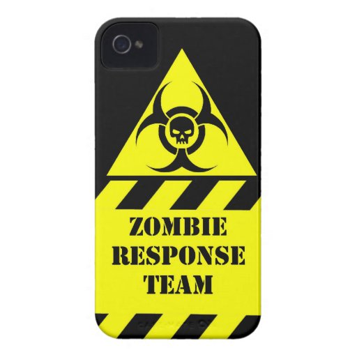 Zombie response team keep calm and kill zombies iPhone 4 Case-Mate cases