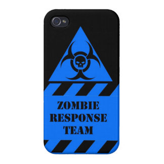 Zombie response team keep calm and kill zombies cases for iPhone 4